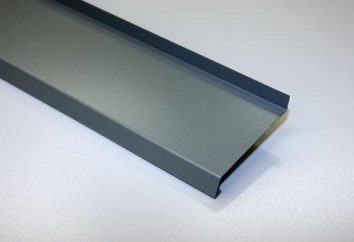 Odpływ dla okien plastikowych: odmiany i cech konstrukcyjnych