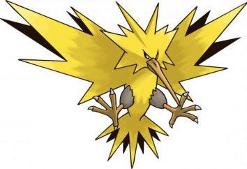 Elektrisch pokemons: Übersicht, Merkmale und Funktionen