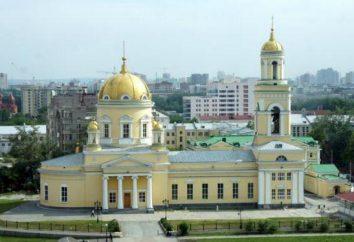 Cattedrale della Santa Trinità, Ekaterinburg: descrizione, storia, rettore