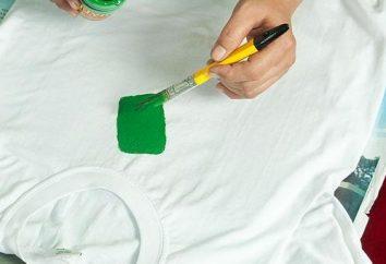 Lezioni fai da te: patterning su una T-shirt con le sue mani