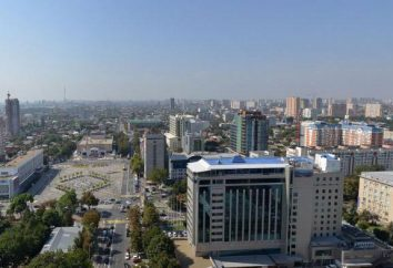 La capitale del Territorio di Krasnodar: descrizione, il nome, la posizione e fatti interessanti