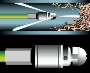 Nettoyage de la méthode hydrodynamique des eaux usées. Méthodes pour les égouts de nettoyage