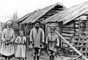 Qui sont les paysans attribués? Ceci est une question intéressante sur la situation des paysans en Russie