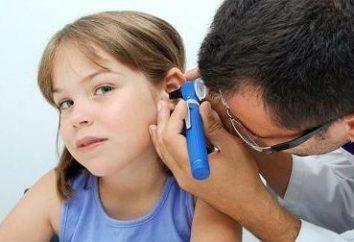 inflammation de l'oreille: traitement, les symptômes et les causes de