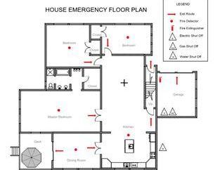 Właściwie zaprojektowany plan ewakuacji jest gwarancją bezpieczeństwa ludzi podczas pożaru