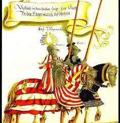 O lema do cavaleiro. Cavaleiros da Idade Média