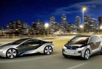 Elektryczne BMW: obecne i dzieci
