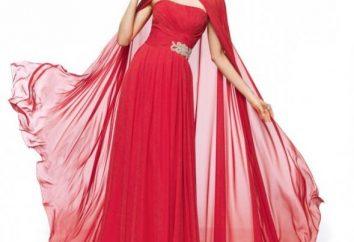 Was ist zu beachten, wenn Sie ein Kleid aus Chiffon nähen entscheiden