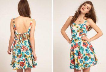 El plan: cómo coser vestido de verano para el verano