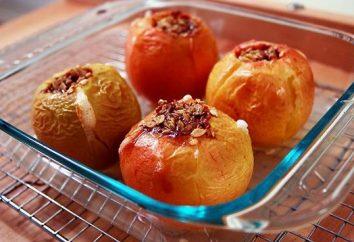 Jak gotować jabłka pieczone w wielowarstwie?