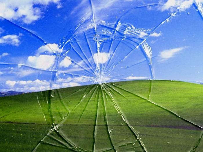 windows xp tela azul