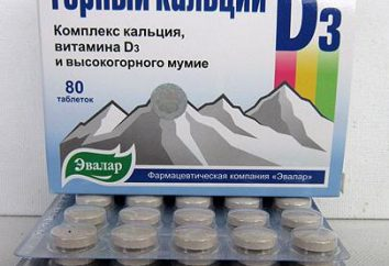 "Bioadditive ""Mountain calcium D3"" con momias: opiniones de usuarios"