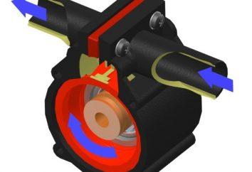 Diafragma de la bomba: aplicación y características