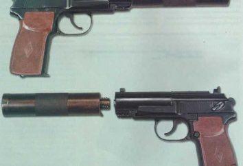 Pistola APB (silenzioso automatico): descrizione, le specifiche e recensioni