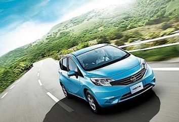 """hatchback compacto """"Nissan Note,"""": especificações técnicas e design da segunda geração de veículos"""