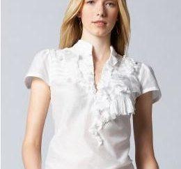 Blusas de manga corta – de moda, femenino, hermoso