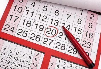 Décennie du mois – il est le troisième mois de la période de dix