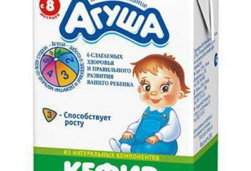 """Kefir """"Agusha"""": zdjęcia, opinie, skład, trwałość"""