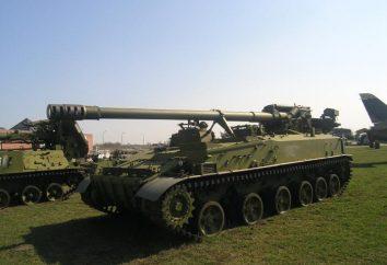 """SAU """"Giacinto"""". Semovente 2S5 installazione di artiglieria """"Giacinto"""": le specifiche tecniche e le foto"""