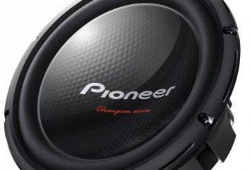 """Subwoofery """"Pioneer"""" – bardzo wysokiej jakości!"""