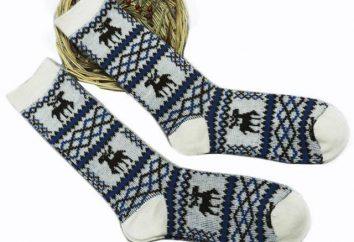 Chaussettes avec cerf – cadeau élégant Nouvel An