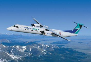 Bombardier Q400 – negocio en el Canadian