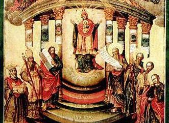 """Ikona """"Mądrość Boga Sophia"""": czego oni modlą się?"""