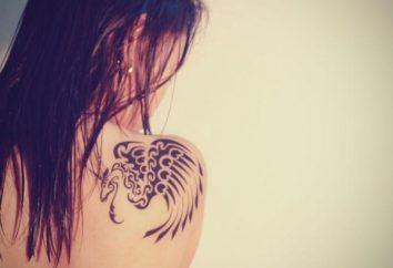 Zrobić tatuaż na łopatce: opcje graficzne