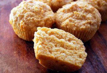 Come cucinare muffins con panna acida?