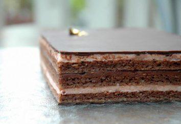 « Opera » (gâteau): la recette originale avec une photo