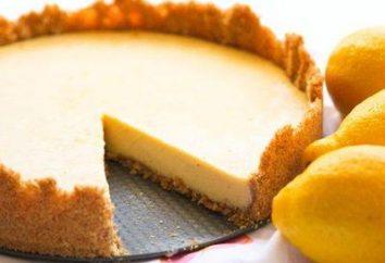 Placek z kruchego ciasta z cytryny: przepis. Lemon piasek ciasto