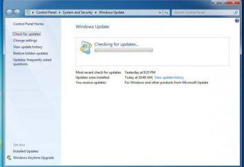 Windows 7 uaktualnienia nieograniczone. Przyczyny korekty