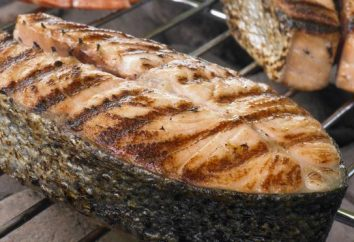 Pesce alla griglia – molto gustoso e saporito piatto