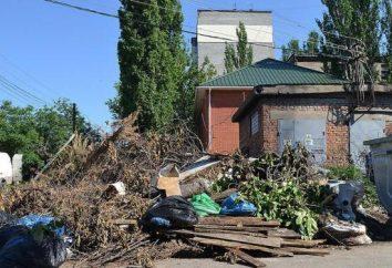 Nieuprawnione składowiska. Utylizacja odpadów domowych i przemysłowych