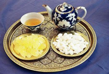 recettes de bonbons ouzbek