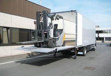 Maszyny z Hydrolift do transportu wielkogabarytowych ładunków. Samochody ciężarowe