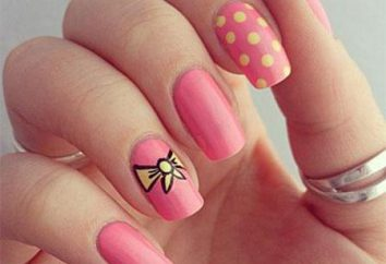 I più bei disegni unghie. Idee per il manicure di tutti i giorni