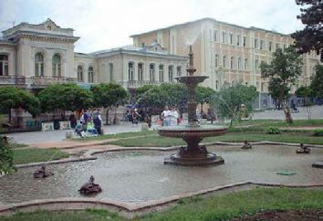 Kislovodsk, parcs d'attractions, des cascades, des musées, des centres de villégiature, des motels et des temples
