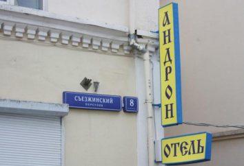 Hôtel « Andron » sur « la place Lénine »: adresse, avis, chambres réservation