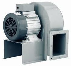 Los ventiladores centrífugos: el dispositivo de aplicación y