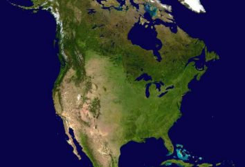América del Norte: el relieve y sus características