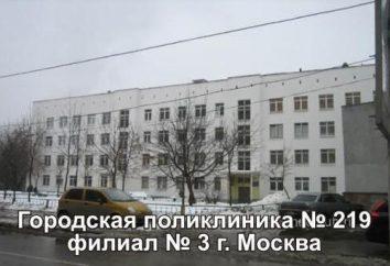 Poliklinika № 151 (ul Glider): specjaliści, telefon, lekarz na wezwanie w domu. Polyclinic № 151 gałęzi № 3 № GP 219