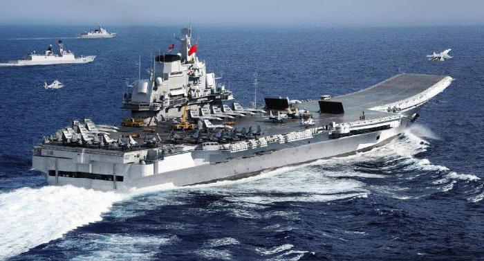"""Portaerei """"Liaoning"""". L'ammiraglia della flotta della Cina"""