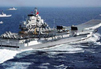"""Lotniskowiec """"Liaoning"""". Flagowym floty Chin"""