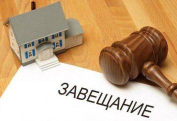 Sekcja dziedziczenie między spadkobierców: prawa, zasad i cech