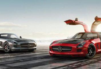 Mercedes-Benz SLS AMG – la caractéristique la plus puissante de la voiture de sport allemande