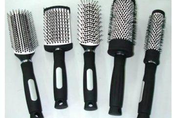 cheveux peigne (coiffant): description, méthode de sélection et l'utilisation de