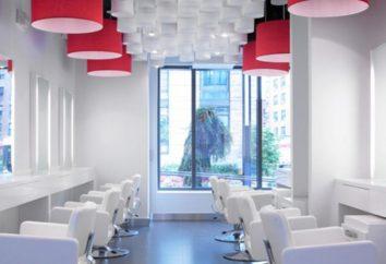 O projeto de um salão de beleza – tudo para os clientes