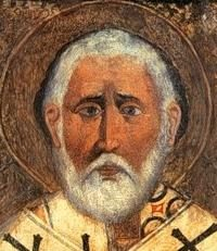 Le fondateur de l'iconographie russe Alimpiy révérend et ses brillants disciples