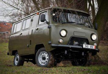 """Specyfikacje """"bochenek"""" UAZ 452, wymiary, zużycie paliwa"""